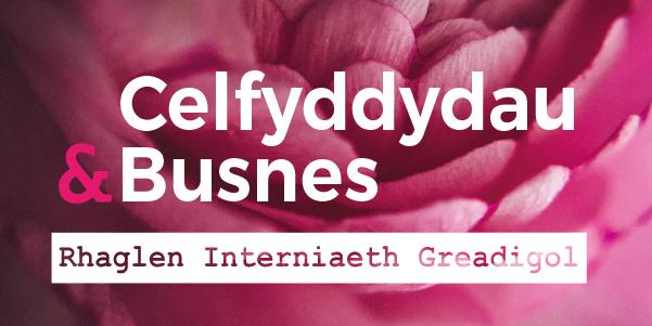 Celfyddydau & Busnes Cymru: Rhaglen Interniaeth Greadigol
