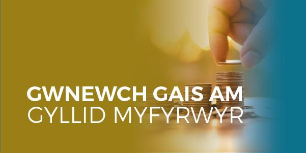 Peidiwch a cholli allan ar eich Cyllid Myfyrwyr
